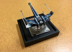 Mini X-Wing Fighter from Recycled Computer Parts por shankalonian – Pin's Page Gifts For Campers, Camping Gifts, Computer Parts And Components, X Wing Fighter, Wine Glass Holder, Grilling Gifts, Gifts For Photographers, Fitness Gifts, Practical Gifts