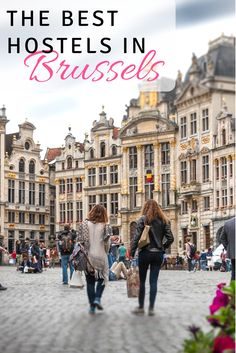 The Best Hostels in Brussels: Brussels isn't exactly a super budget friendly destination, so staying in a hostel is a great way to keep your spending in check. Here are our favorite budget hostels in Brussels Belgium. Click here to find out more and save on your next vacation to Brussels!