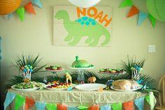 dinosaur+baby+shower+ideas | Dinosaur Theme Baby Shower Ideas | Ideas For Baby Shower @Jessica McLeroy