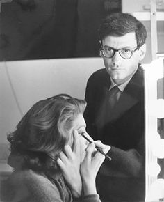 Suzy Parker with Richard Avedon.