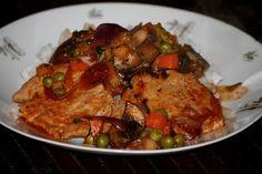 A ZSUZSI FŐZ!: Karaj zöldséges-boros raguval Meat, Chicken, Food, Essen, Meals, Yemek, Eten, Cubs