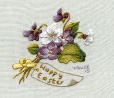 Easter Violets - Free Pattern