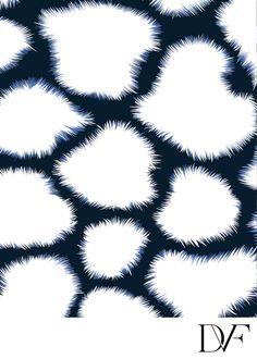 DVF | Shibori Giraffe Print, Spring 2012: Beginnings
