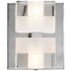 """Elan Considine 5 1/2"""" High Frosted Glass Wall Sconce"""