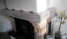 Tutoriel : peindre et relooker une poutre de cheminée