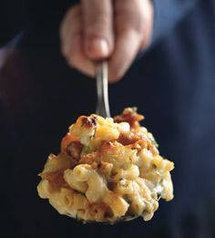Mac and Cheese with Buffalo Chicken: