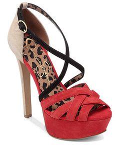 Jessica Simpson Shoes, Éclair Platform Sandals - Jessica Simpson - Shoes - Macy's
