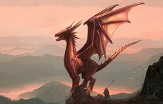 I really wish dragons existed
