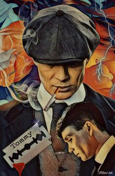 Tommy Shelby Peaky Blinders English Crime Drama Birmingham Wall Art Wall D. Peaky Blinders Saison, Peaky Blinders Poster, Peaky Blinders Wallpaper, Peaky Blinders Series, Peaky Blinders Quotes, Peaky Blinders Season 5, Peaky Blinders Tommy Shelby, Peaky Blinders Thomas, Cillian Murphy Peaky Blinders