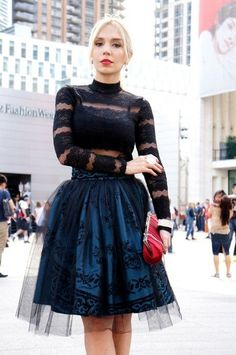 How To Wear a Tulle Skirt Ideas - Be Modish - Be Modish