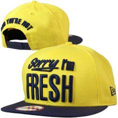 nouveauté 2014 New Era - Sorry IM Fresh New Era Cap Cyber Yellow/Navy