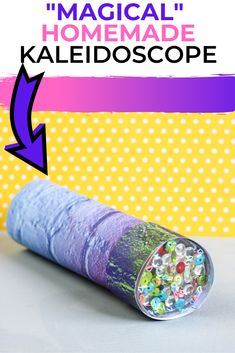 Having the kids make their own Homemade Kaleidoscope is so much fun! It's a throwback toy to my own childhood years and a great STEM activity, too! This is an easy tutorial on how to make a Kaleidoscope.