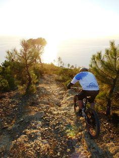 Riding in Sestri Levante St.Anna