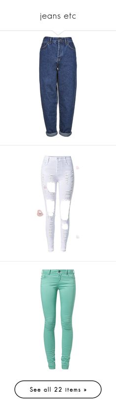 """jeans etc"" by valaquenta ❤ liked on Polyvore featuring jeans, pants, bottoms, trousers, mid stone, zipper jeans, baggy jeans, baggy boyfriend jeans, zipper fly jeans and blue jeans"