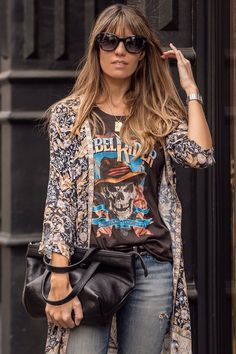 Let's find out about the best boho brands out there! Spell Designs, Johnny Was and so many great bohemian brands you need to know about now! Grunge Fashion Soft, Boho Fashion, Fashion Outfits, Punk Fashion, Lolita Fashion, Fashion Boots, Style Fashion, Boho Rock, Glam Rock