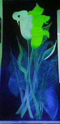 floral     oleo  sobre tela