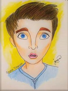 Visit the post for more. #Shane #Dawson #cartoon #drawing #youtuber #art #coloredpencil