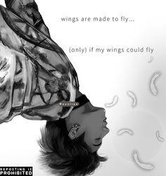 bts wings fanart | Tumblr