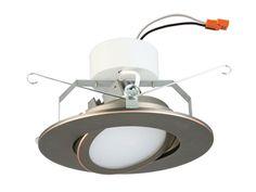 Lithonia LED Retrofit Downlight 6G1BN LED 30K 90CRI M6 - Bees Lighting Stainless Steel Appliances, 3000k, White Light, Recessed Lighting Fixtures, Sloped Ceiling, Ceiling Fixtures, Led, Beams, Lithonia Lighting