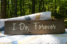 Wedding Sign  Rustic Wooden Reclaimed Lumber by PiccadillyPastimes, $35.00