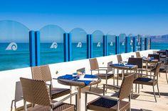 Alcamo Marina nel Alcamo, Sicilia hotel la battigia direttamente sulla spiaggia al centro del Golfo di Castellammare  servizi: piscina ristorante spiaggia privata lido bar sala banchetti