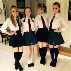 Outfits for School: Best for Cute and Stylish Look Prep School Uniform, School Uniform Outfits, Cute School Uniforms, Girls Uniforms, Womens Nighties, Pretty Blonde Girls, Pretty Girls, School Girl Dress, Girls School