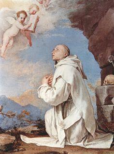 San Bruno, la Cartuja ,Jusepe de Ribera, 1643, óleo sobre lienzo, Gallerie Nazionali di Capodimonte, Nápoles, Italia, Ruth Pérez Buendía