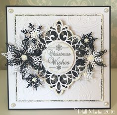 Phill Martin launches our 2nd One Day Special as part of our #12DaysOfChristmasCrafting Monday 4th July at 8pm with his brand new Snowflake Stamp Collection www.hochanda.com