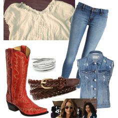 Ariel Moore inspired outfit from the 2011 film footloose