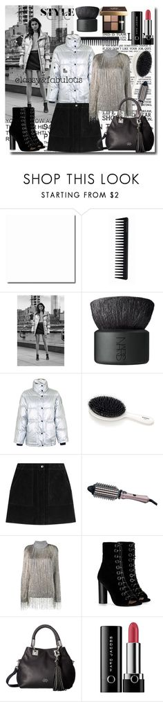 """Senza titolo #2056"" by din-sesantadue ❤ liked on Polyvore featuring GHD, Bobbi Brown Cosmetics, NARS Cosmetics, rag & bone, Remington, Valentino, Barbara Bui, Vince Camuto, Marc Jacobs and Grace"