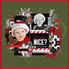 Used the following from the Sweet Shoppe: Template - Set 195 by Cindy Schneider Twas the Night Bundle by Libby Pritchett and Amanda Yi Layered Dates 16 by Cindy Schneider