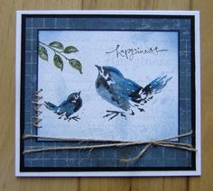 TLC480 Bluebird of Happiness by stiz2003 - Cards and Paper Crafts at Splitcoaststampers LOCAL RUBBER STAMP KINGS
