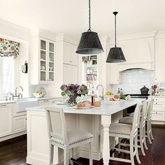Lighten Up Kitchen Update - All-Time Favorite White Kitchens - Southern Living