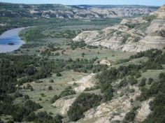 A Bend in the Little Missouri River