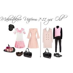 Mahoutokoro Uniform 7-11 yrs old by cullenember on Polyvore featuring Alexander McQueen, Naot, Shubette, Giorgio Armani, Vivienne Westwood, Paul Smith, Polo Ralph Lauren, Jil Sander, Wigs2You and Diane James