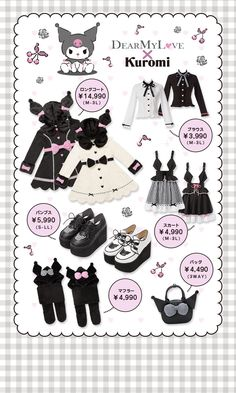 Peachie, fymenhera: Not directly related but in order to... Harajuku Fashion, Kawaii Fashion, Lolita Fashion, Cute Fashion, 90s Fashion, Fashion Styles, Pretty Outfits, Cool Outfits, Hello Kitty My Melody