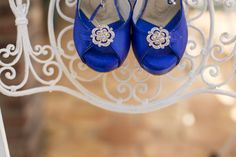 Angela Nuran Wedding Shoes - Royal Blue, Angela Nuran shoes, bridal shoes, sparkle, royal blue, Angela Nuran Starletta, wedding shoes, cobalt blue