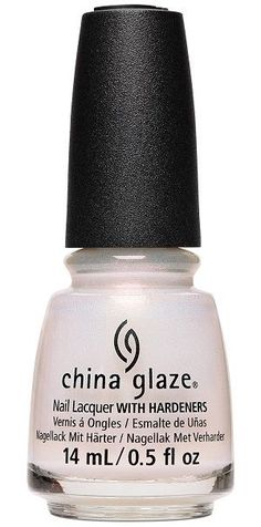 China Glaze Nail Polish, Sauvignon & On 1718 Black And White Nail Art, White Nails, Nail Hardener, Nail Pops, China Clay, China Glaze Nail Polish, Pearl Nails, Colorful Nail Designs, Nail Treatment