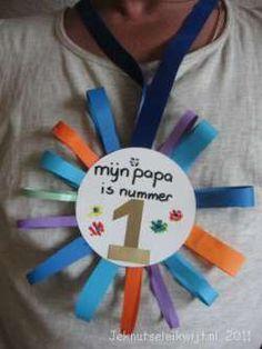 vaderdagknutsel medaille