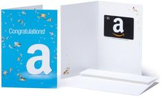 Amazoncom 35 Gift Card in a Greeting Card Congratulations Design -- Learn more by visiting the image link.