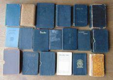 19 christelijke liturgische boeken - eerste helft 20e eeuw