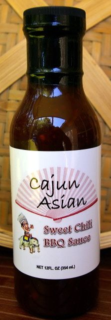 Langenstein's is now carrying Cajun Asian Sweet Chili BBQ Sauce, a premium BBQ sauce with mild heat and bold flavor!
