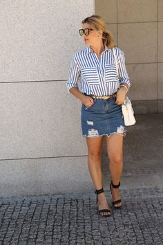 Coco and Jeans: Outfit: What About Stripes