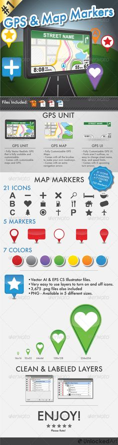 DOWNLOAD :: https://vectors.work/article-itmid-1004246816i.html ... GPS and Map Markers ...  blue, car, compass, destination, directions, display, find, gps, gray, green, help, icon, map, maps, markers, mobile, navigation, orange, red, road, satellite, yellow  ... Templates, Textures, Stock Photography, Creative Design, Infographics, Vectors, Print, Webdesign, Web Elements, Graphics, Wordpress Themes, eCommerce ... DOWNLOAD :: https://vectors.work/article-itmid-1004246816i.html