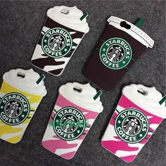 These custom designed Starbucks Cases are a MUST HAVE! Designed with premium high quality silicon material. Provides full protection to your iPhone from scratches and dirt. Perfect cutouts allow you t