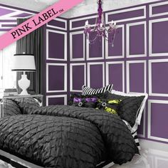 http://decoratingdiva23.hubpages.com/hub/6-Different-Bedroom-Decor-Ideas-For-the-Fabulously-Glam-Girl #purple