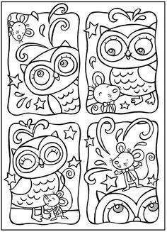 Путь к гармонии » Blog Archive » Раскраски для взрослых. Сова.