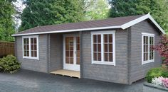 Cabins Unlimited - The Elveden 7.9m x 4.2m Log Cabin with a choice of 44mm or 70mm Logs.  Perect as a home office or reception area (http://www.cabinsunlimited.co.uk/elveden-4-9m-x-7-9m-log-cabin-with-a-choice-of-44mm-or-70mm-logs/)