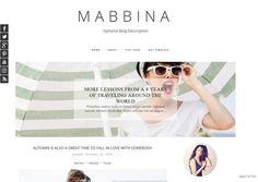 Premade Blogger Template  - Responsive Blogger Template - Blogspot - Blog Template - Blogger Theme -