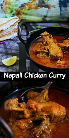 Nepali chicken curry is a no fancy curry with full of flavor. Basic ingredients and full of flavor.Best flavors of this curry come out with country chicken Chicken Tikka Masala Rezept, Indian Food Recipes, Asian Recipes, Indian Foods, Ethnic Recipes, Kari Ayam, Nepal Food, Curry Dishes, Indian Dishes